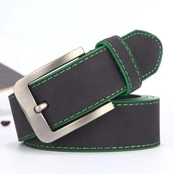 2019 Fashion Leather Belt for Men Italian Design 8