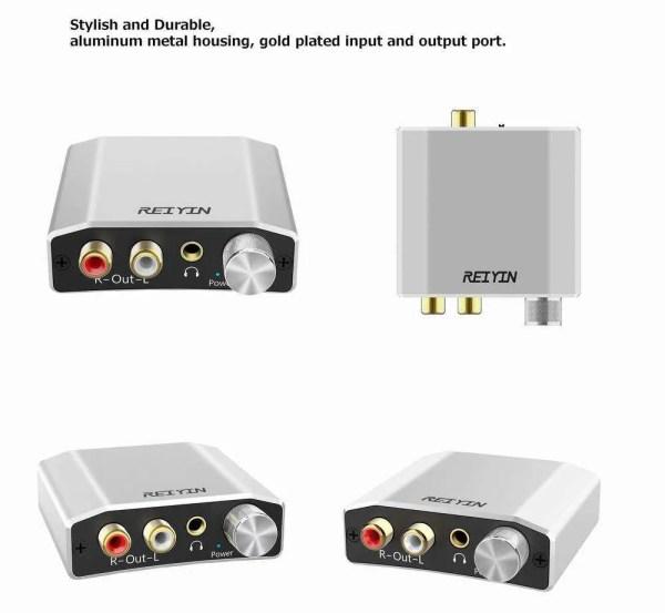 DAC 192kHz 24bit Audio Converter 5