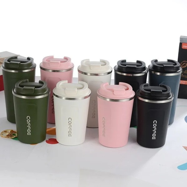 New Style Double 304 Stainless Steel Mug Thermos 5