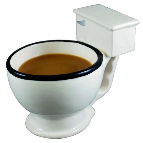 Novelty Toilet Ceramic Mug 300 ml 1