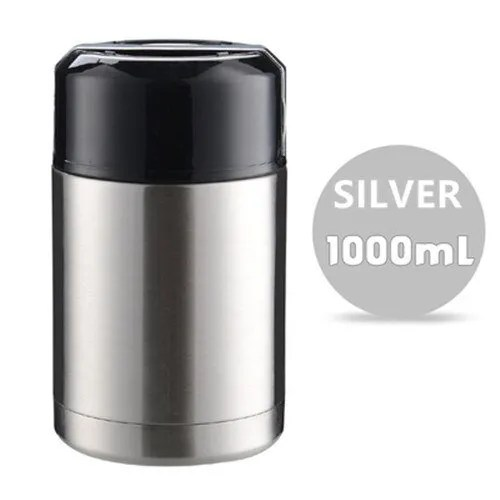 Double Stainless Steel Thermos Food Containers Lunch Box 14