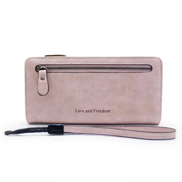Women Fashion PU Leather Long Wallet 8