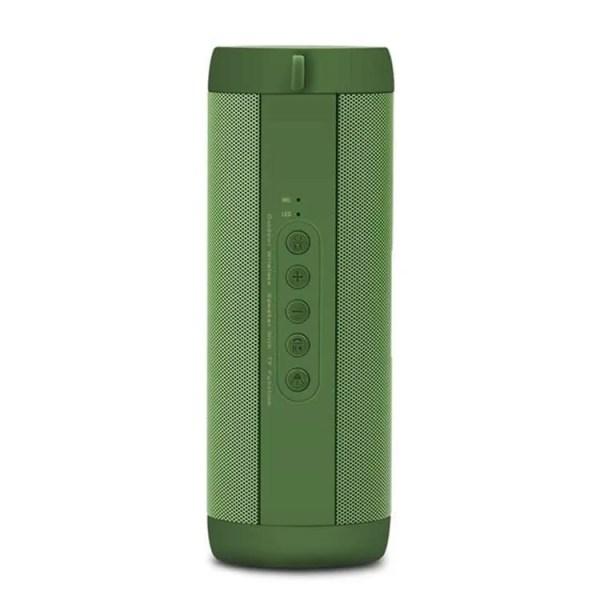 Wireless Bluetooth Mini Column Portable Loudspeaker (Green)