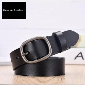 Women Fancy Vintage Leather Jeans Belt