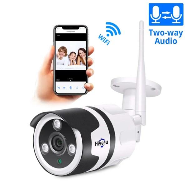 Hiseeu 2MP Wifi Waterproof Outdoor IP Security Camera 1