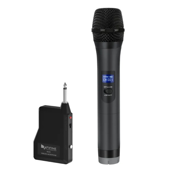 Wireless Dynamic Microphone and Receiver