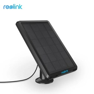 Reolink Solar Panel with 4 meters Cable for Reolink Rechargeable Battery Security Camera