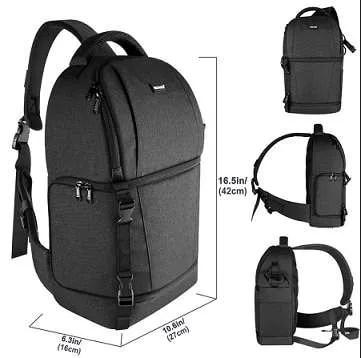 DSLR Sling Camera Backpack Bag 6