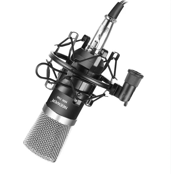 NW-700 Studio Recording Condenser Microphone Set 7
