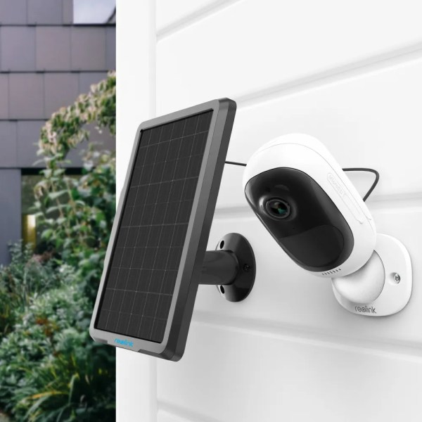 Reolink Solar Panel with 4 meters Cable for Reolink Rechargeable Battery Security Camera 4
