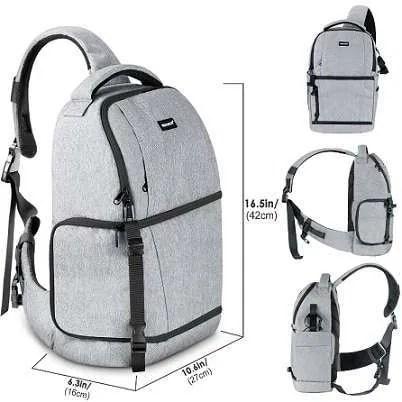 DSLR Sling Camera Backpack Bag 7