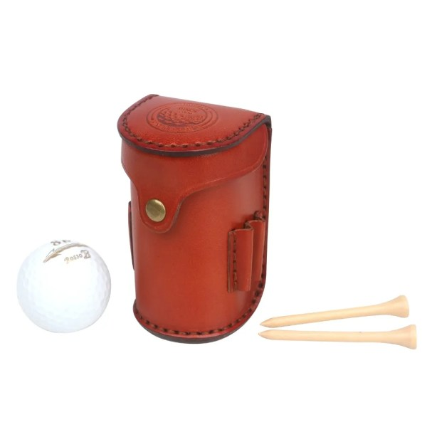 Mini Portable Golf Ball Bag Tee Divot Holder