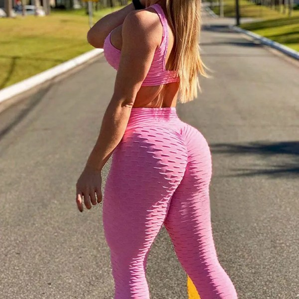 Women Tummy Control Stretchy Workout Leggings 13