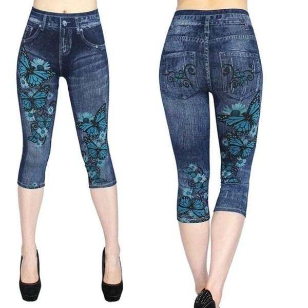 Women Summer Leggings Jeans Style 6