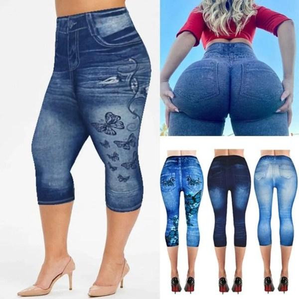 Women Summer Leggings Jeans Style 10