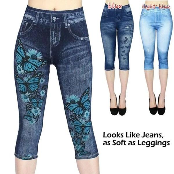 Women Summer Leggings Jeans Style 3