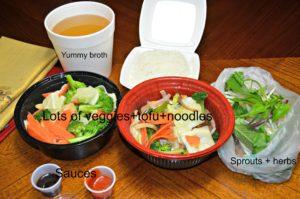 Healthy Vietnamese take out
