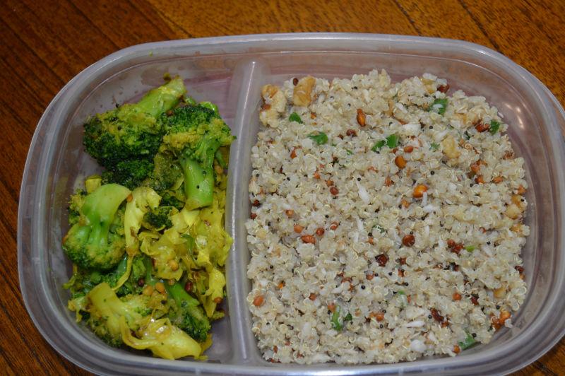 Coconut Quinoa www.upgrademyfood.com
