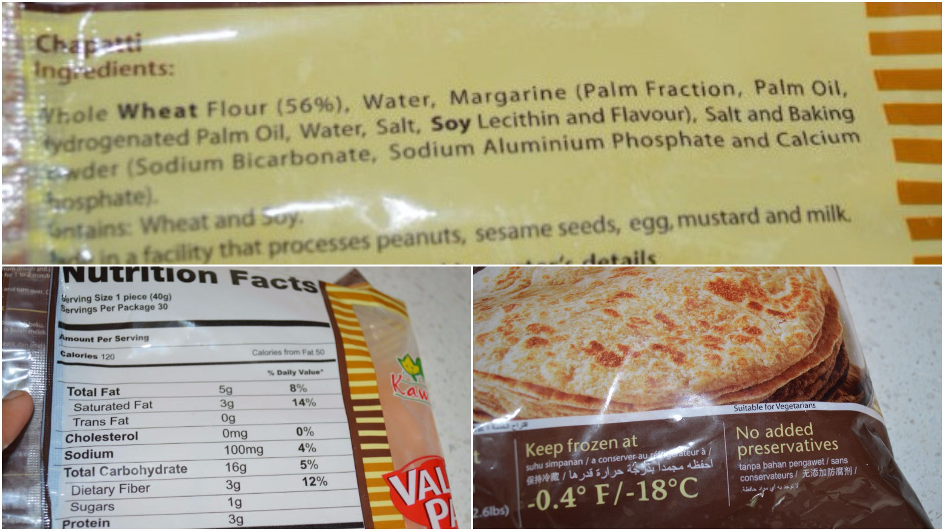 www.upgrademyfood.com Nutrition ingredients kawan