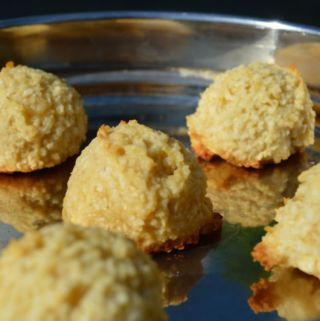 vegan Indian coconut macaroon nei appam
