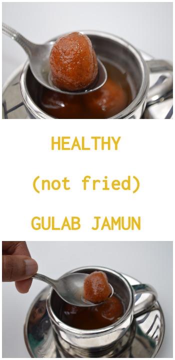 Healthy Gulab Jamun