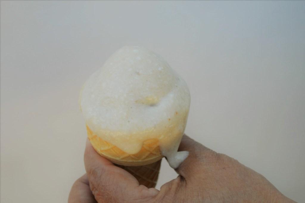 Vanilla flavored Healthy ice cream
