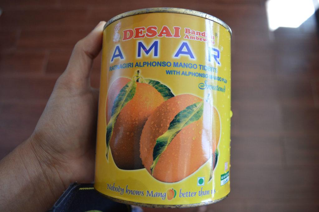 Mango puree can