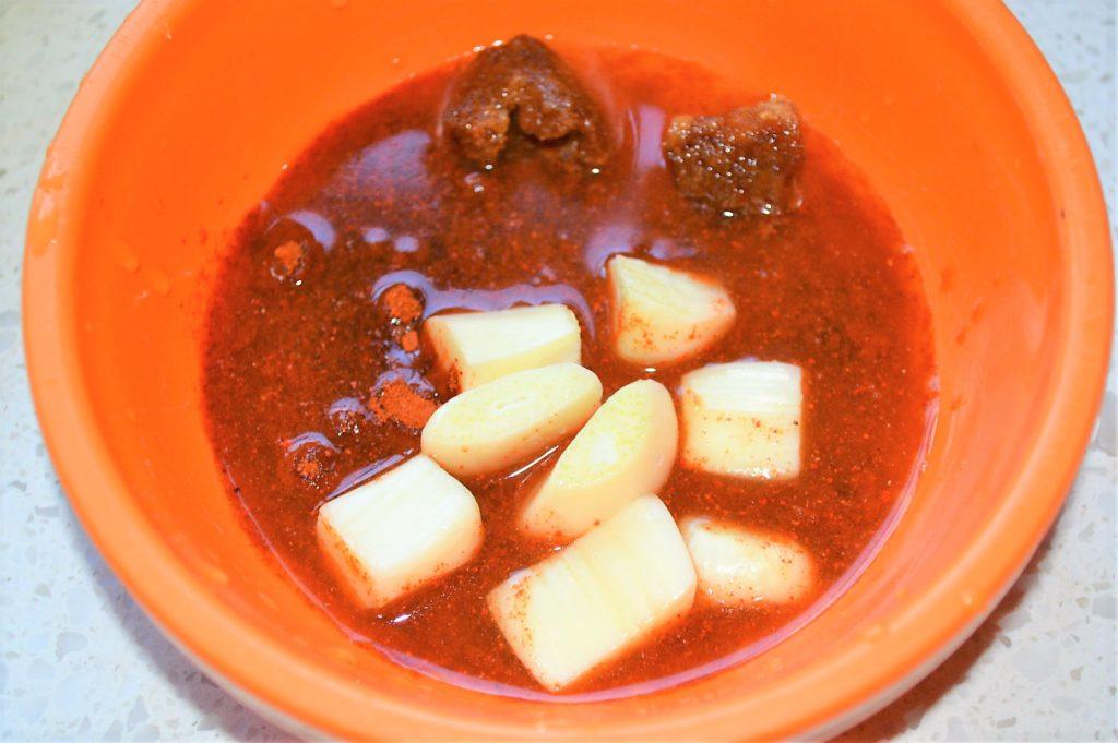 Garlic chili chutney