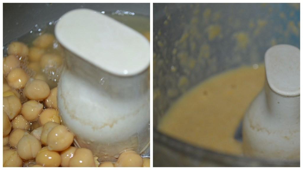 Chickpea paste