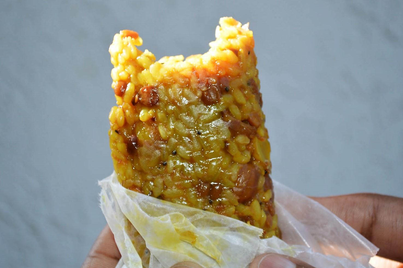 Savory tamarind granola bar