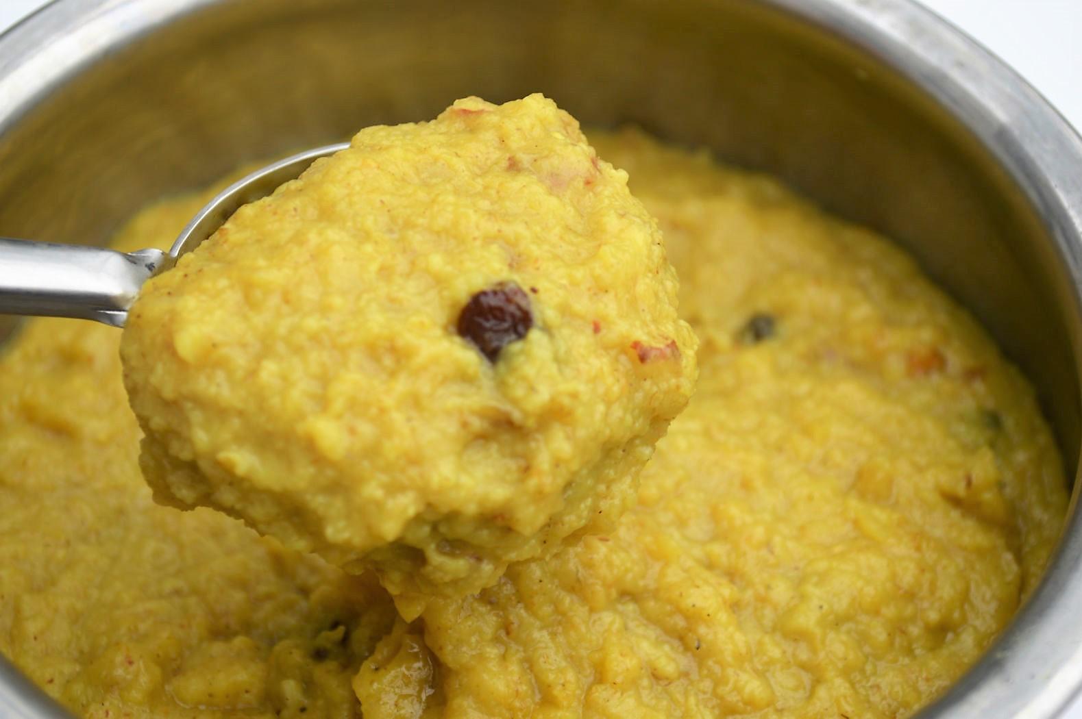 sweet kesari recipe with oats