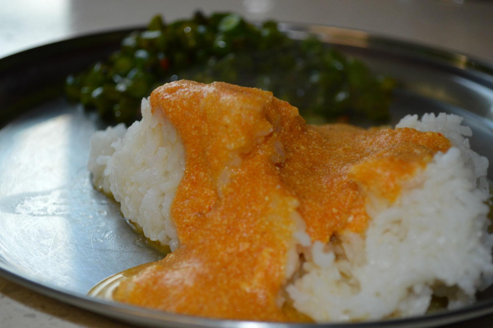 Easy Pumpkin Indian stew