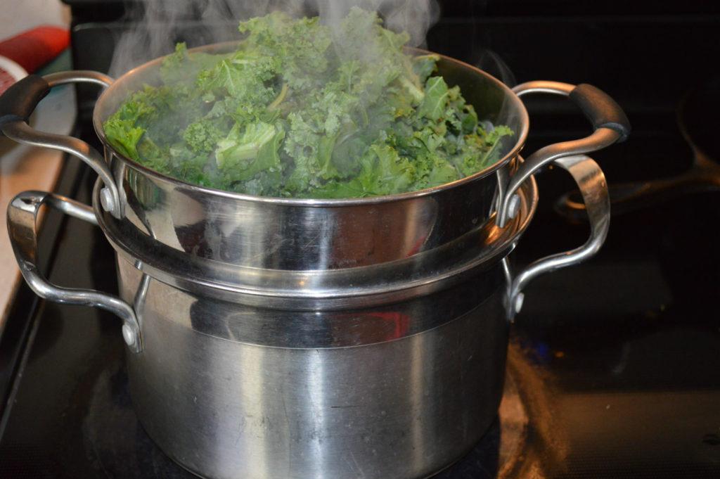 Steam Kale