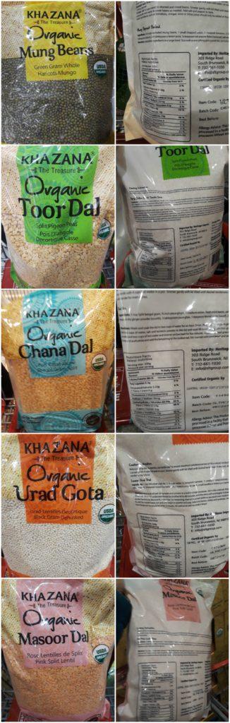 Which Indian lentil has highest fiber? Iron content? - Dal