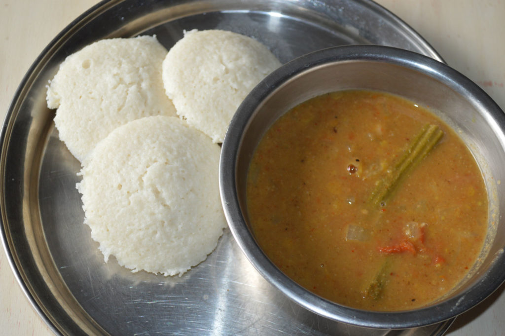 Idli using idli rava