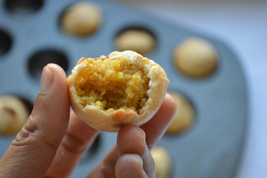 Baked poornum boorelu sweet