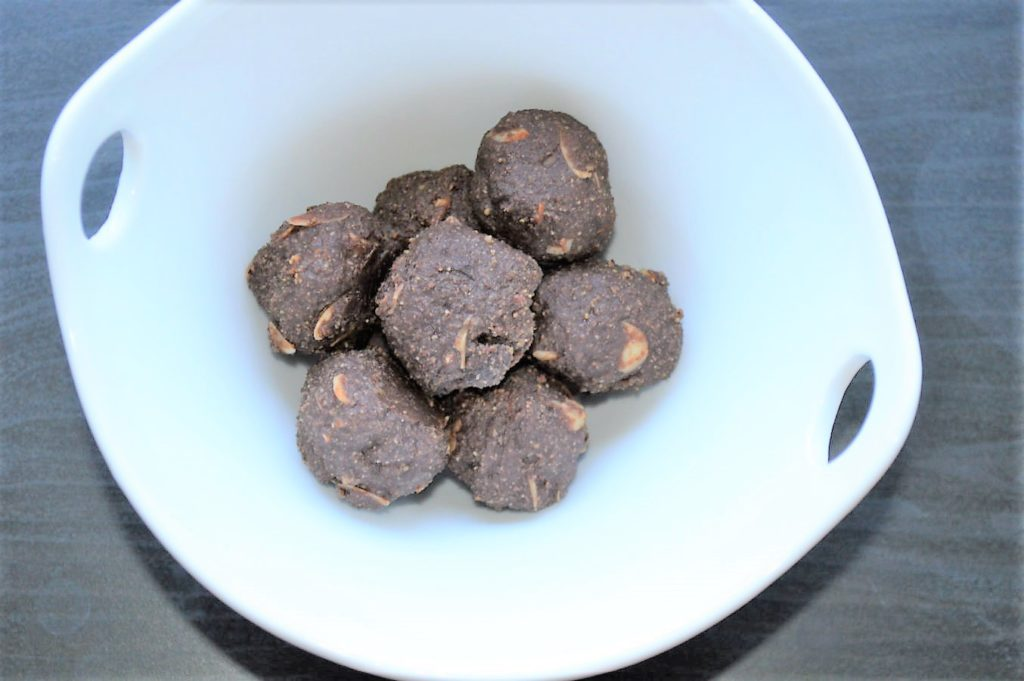 flax seed chocolate ladoo