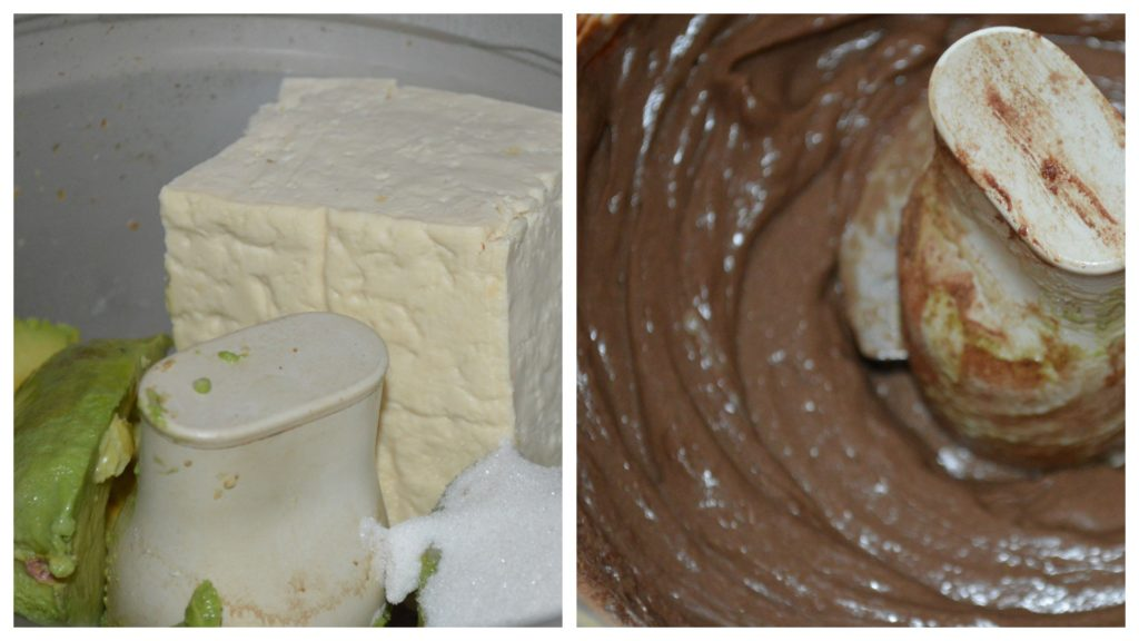 Process cheesecake