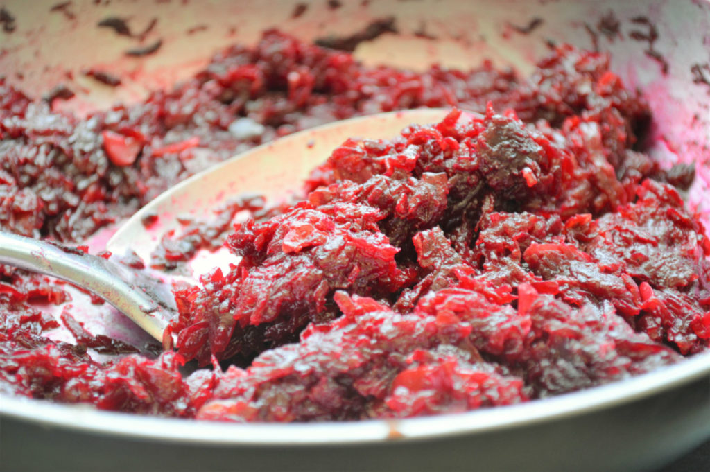 quick and easy beetroot halwa