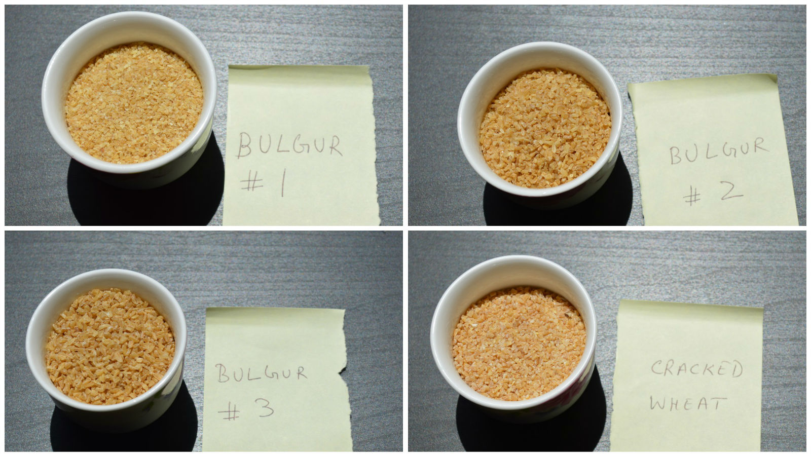 about bulgur - types