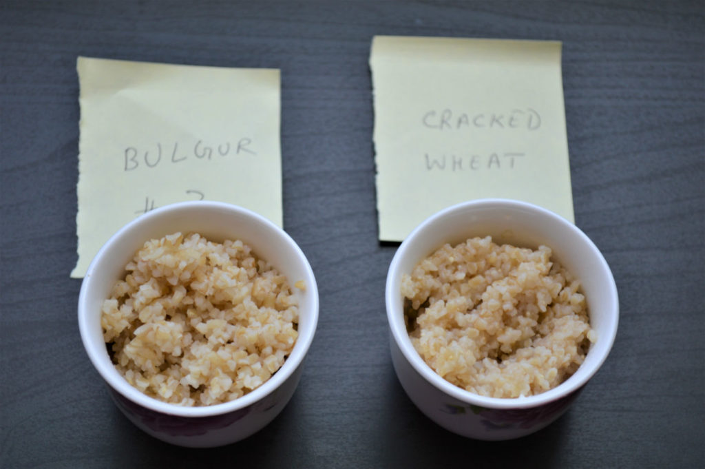 diff bw cracked wheat bulgur cooked