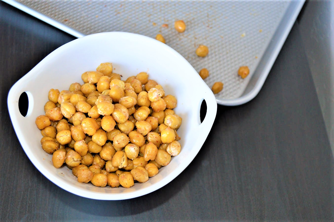 Indian spiced masala chickpeas