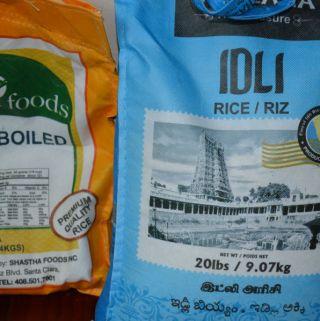 Idli rice vs boiled rice