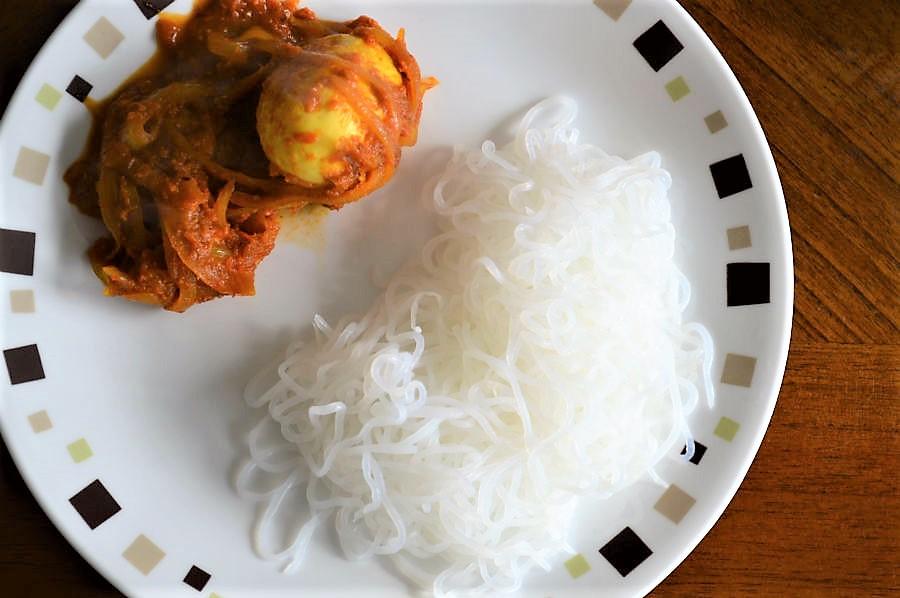 Low carb Idiyappam noodles recipe