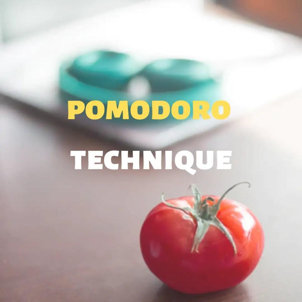 Pomodoro technique for productivity