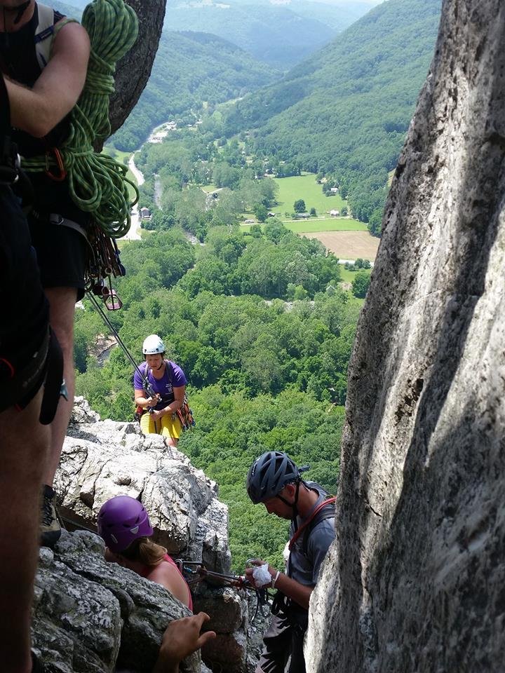 UP Adventure Seneca Rocks