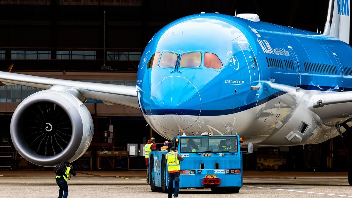 KLM met 787 Dreamliner naar Beijing