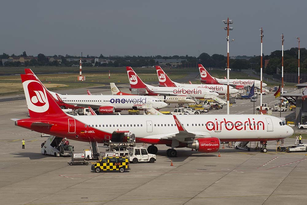 Airberlin vraagt faillissement aan