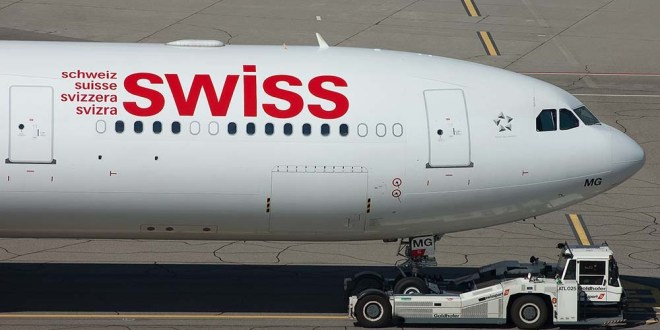 Swiss introduceert toeslagen in businessclass