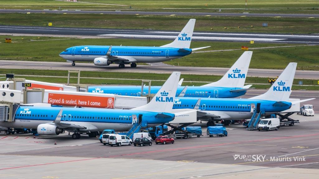 Top 10: meest geziene toestellen op Schiphol